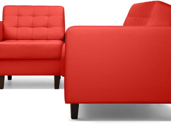 описание Диван угловой Бренсон Red