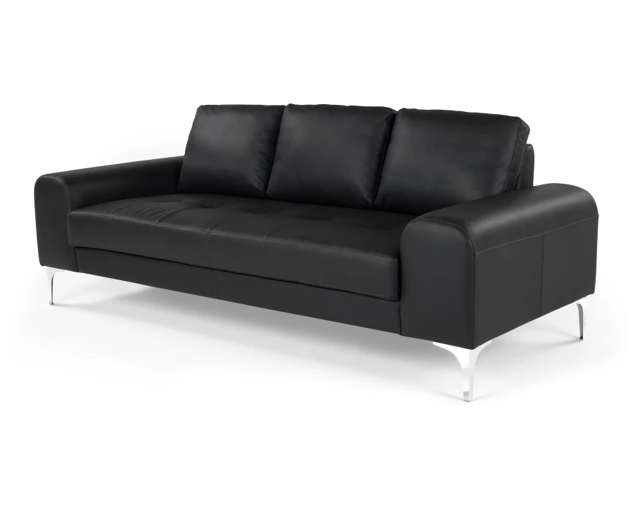 описание Диван Vitto Black leather