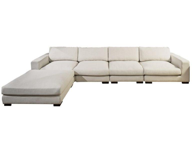 гигантский угловой диван со спальным местом