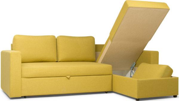 Преимущества раскладки углового дивана со спальным местом