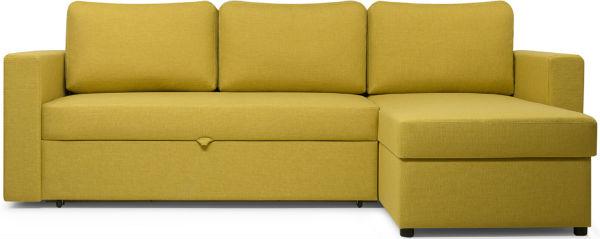Компактные угловые диваны со спальным местом