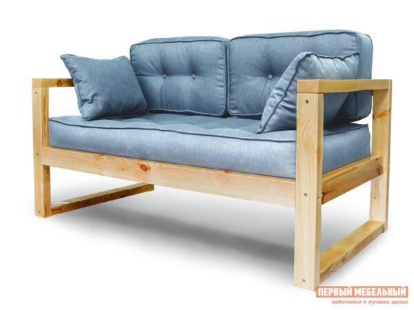 описание Прямой диван АНД Астер-мини Голубой