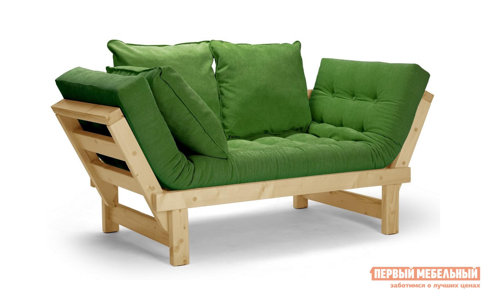 описание Прямой диван АНД Кушетка Свен (сосна) Сосна натуральная