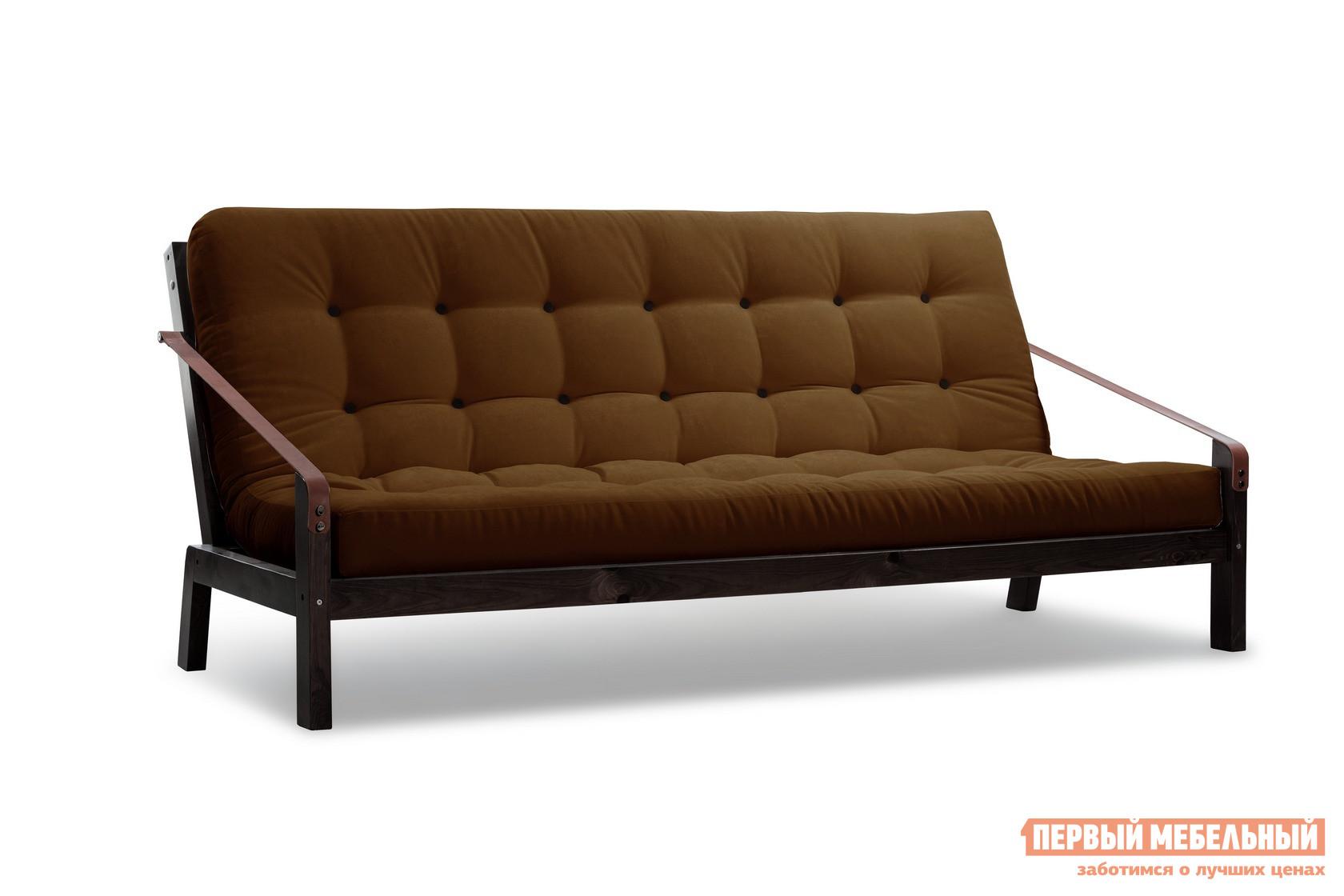 описание Прямой диван АНД Локи сосна венге Коричневый