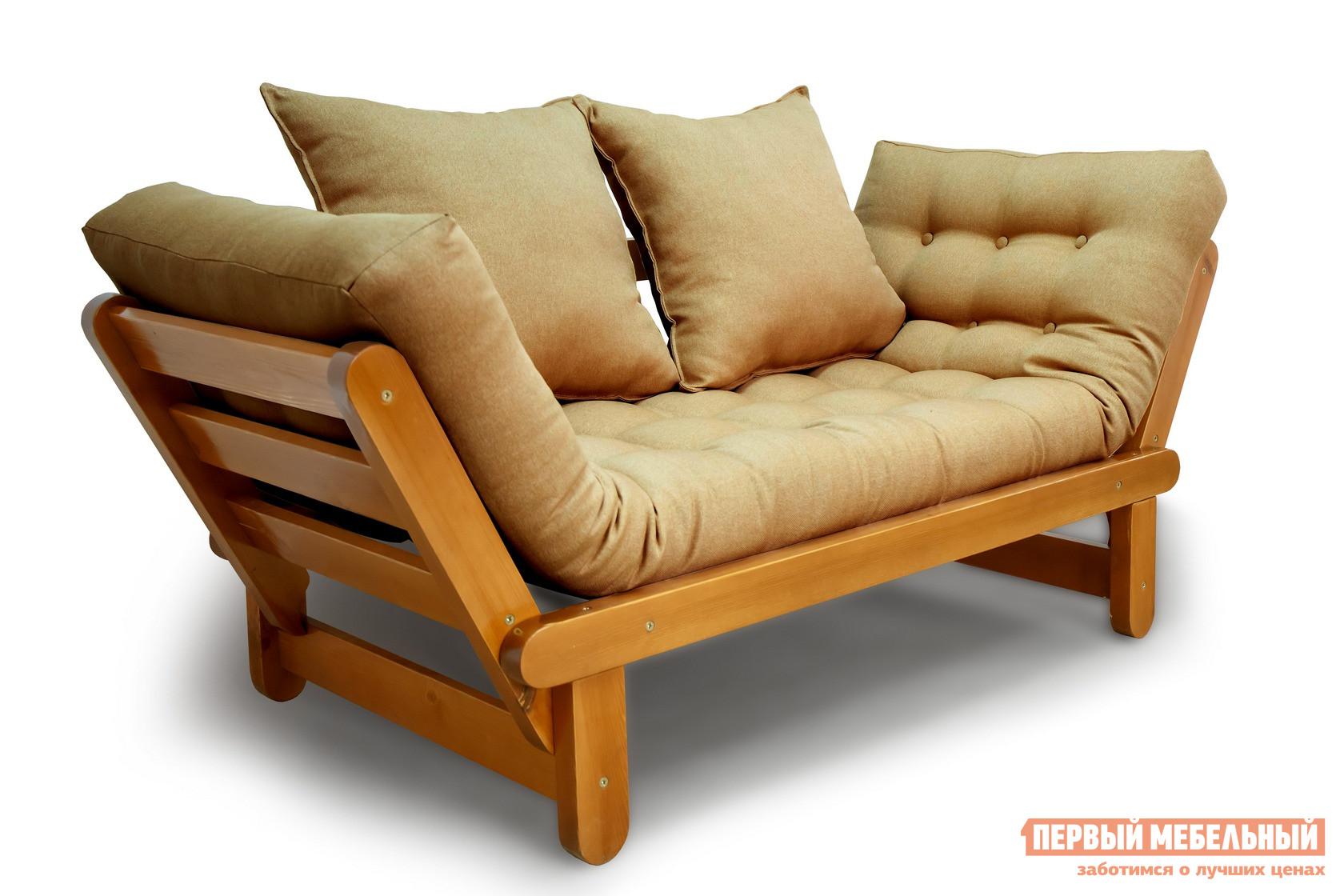 описание Прямой диван АНД Сламбер Орех