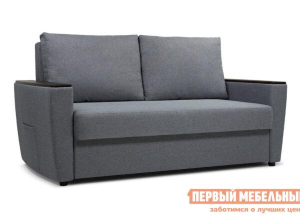 описание Прямой диван ПМ: Пиррогрупп Майами Серо-голубой